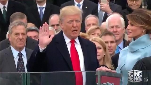 President Trump: Oath Of Office & First Speech