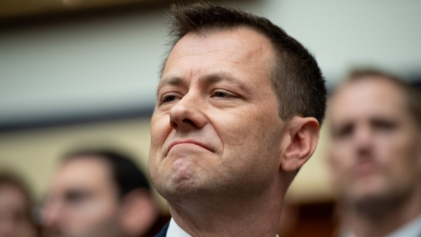 "FBI Fires ""Creepy"" Peter Strzok"